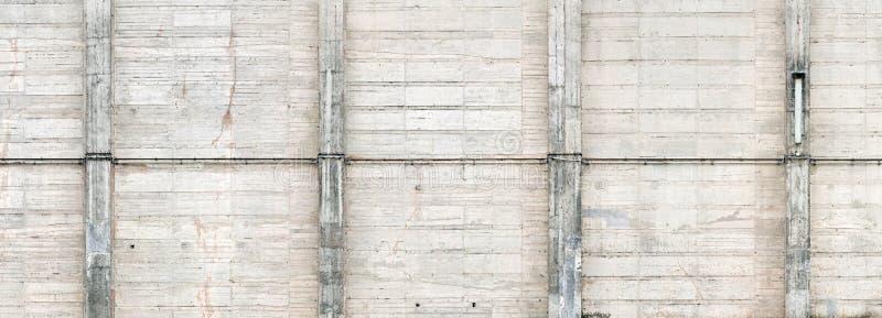 Struttura esposta all'aria del muro di cemento immagine stock