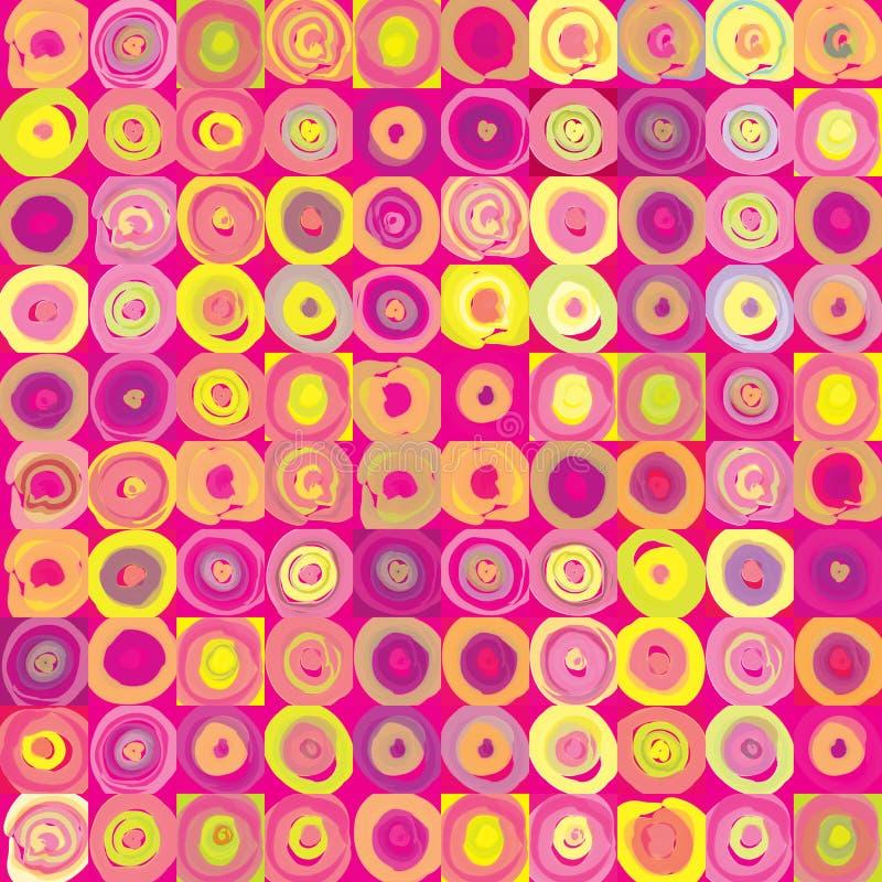 Struttura festiva geometrica astratta di Pop art royalty illustrazione gratis