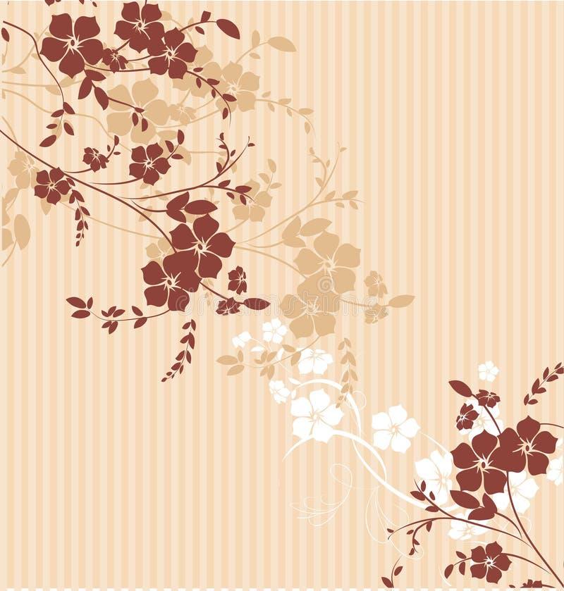 Struttura floreale illustrazione vettoriale