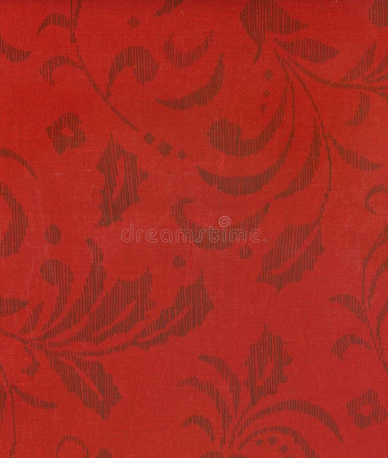 Struttura floreale rossa fotografia stock libera da diritti