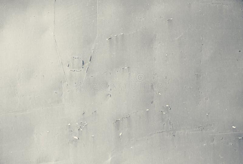 Struttura, fondo Piatto dipinto arrugginito del metallo fotografia stock