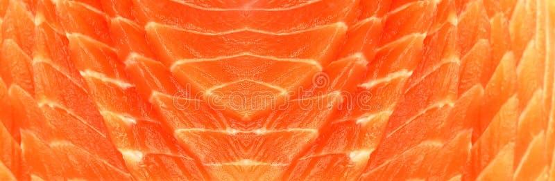 Struttura fresca dei salmoni rossi fotografia stock libera da diritti