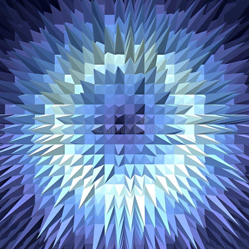 Struttura geometrica astratta di poligonal di pendenza fotografia stock