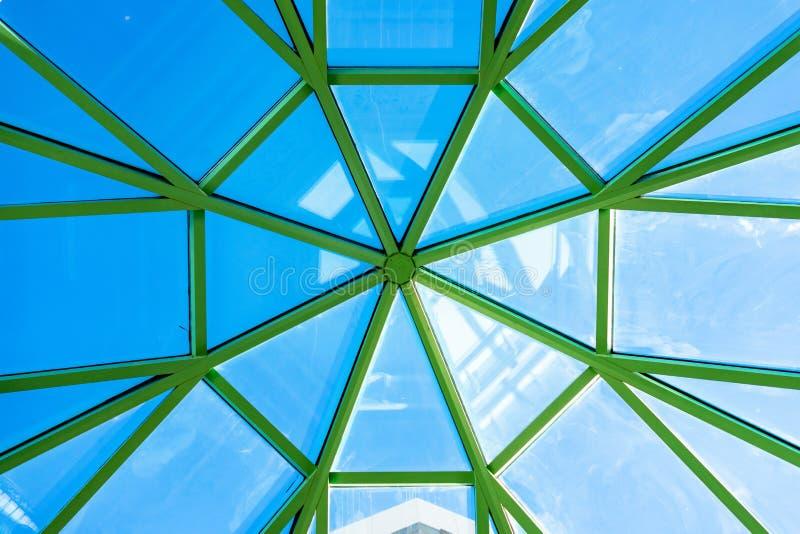 Struttura geometrica del soffitto in un casinò a Las Vegas immagine stock