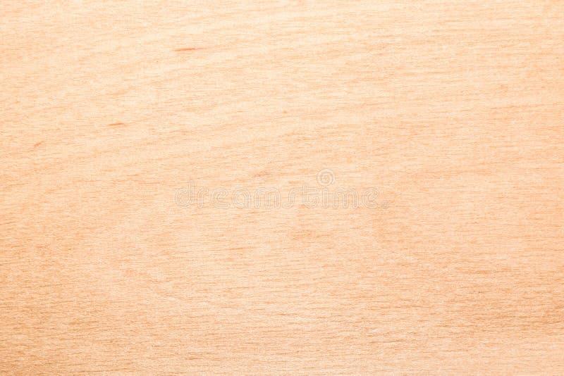 Struttura gialla del compensato della betulla, fondo astratto immagine stock