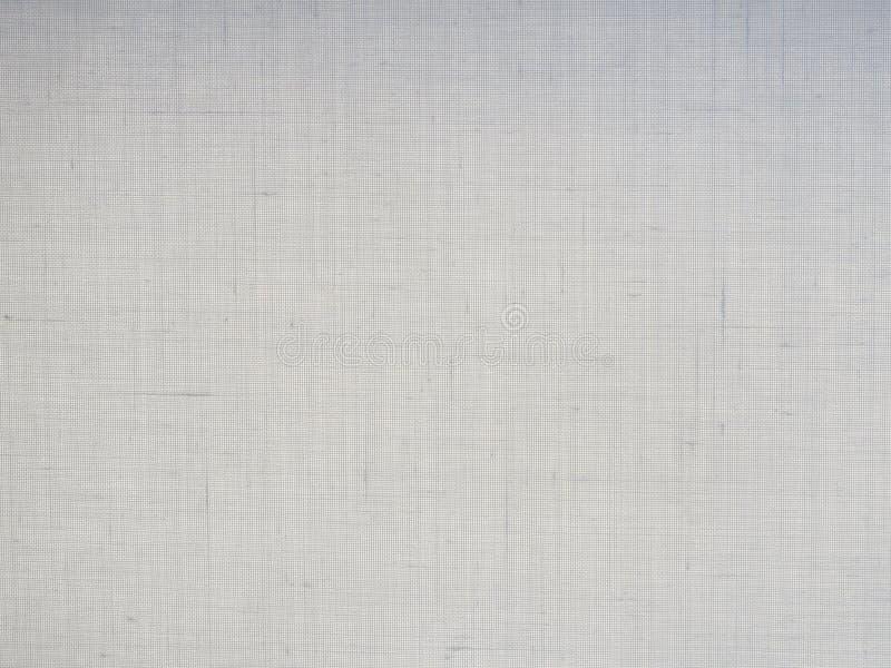 Struttura grigia bianca del fondo del modello del tessuto immagini stock