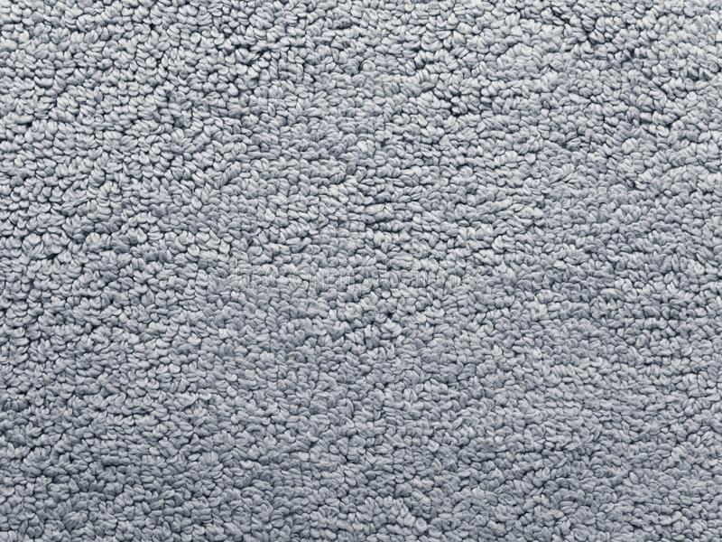 Struttura grigia del tessuto della coperta del bagno fotografie stock