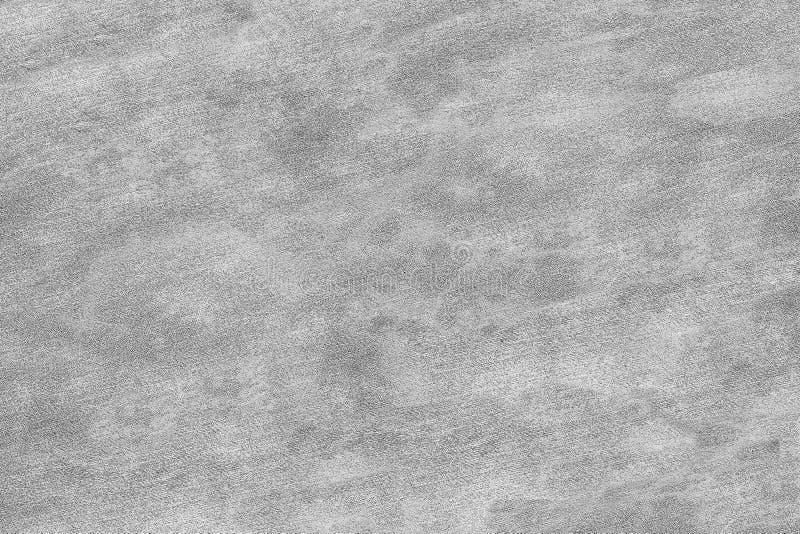 Struttura grigia della parete dell'ufficio o parete esterna: piccola briciola sulla superficie fotografia stock libera da diritti
