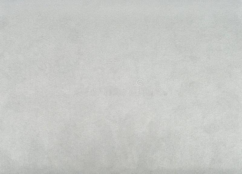Struttura grigia della pelle scamosciata immagini stock