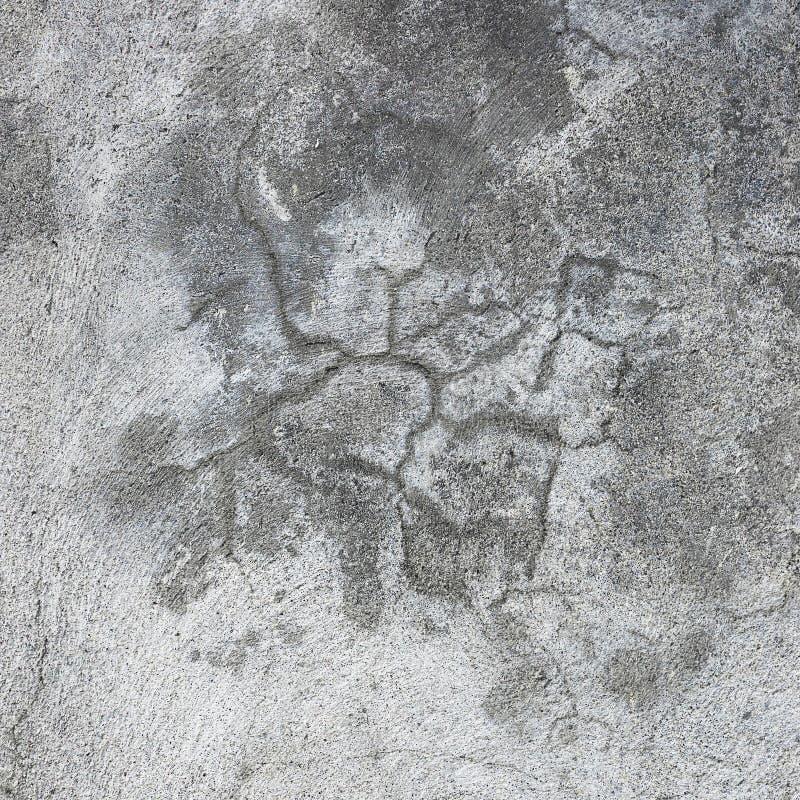 Struttura grigia dello stucco della parete di lerciume, macro primo piano del gesso concreto rustico grigio naturale scuro, vecch immagini stock libere da diritti