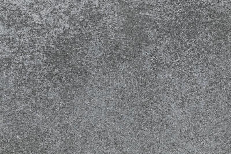 Struttura grigia e scura del cemento per il modello immagine stock