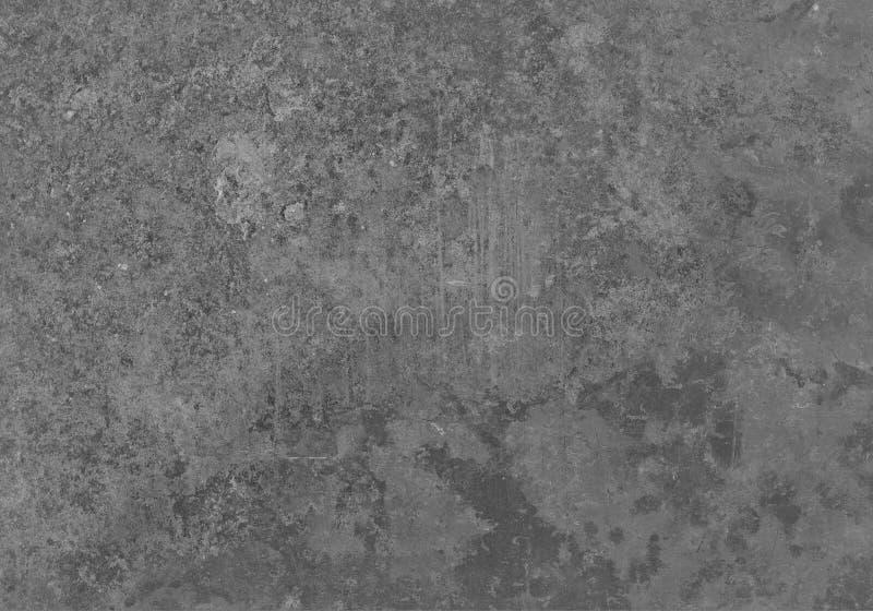 Struttura grigia invecchiata del metallo di lerciume Vecchio fondo del ferro immagine stock libera da diritti