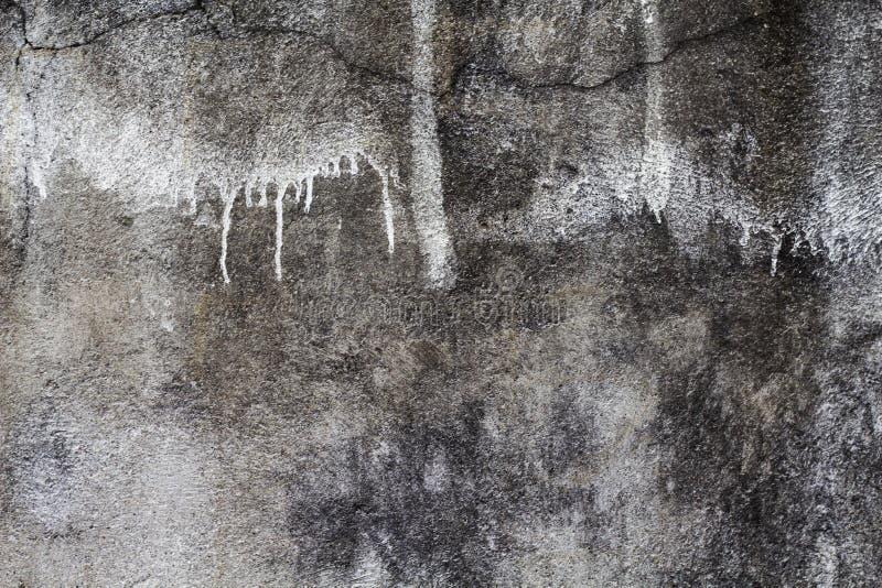 Struttura grigia rustica e vecchia della foto del muro di cemento Contesto elegante misero immagine stock