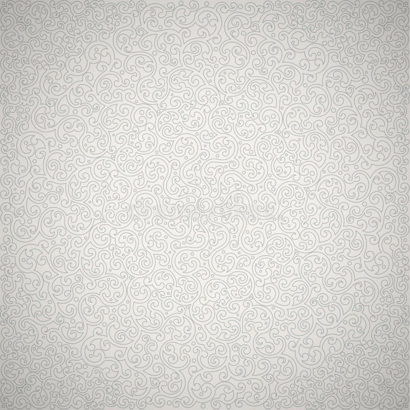 Struttura grigio chiaro di turbinio Fondo di vettore royalty illustrazione gratis
