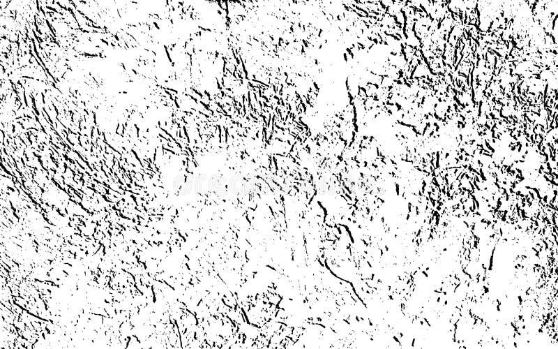 Struttura incrinata afflitta della sovrapposizione di vecchia parete royalty illustrazione gratis