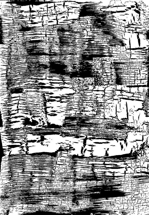 Struttura incrinata del grunge Fondo sudicio stagionato Rebecca 36 Vettore illustrazione vettoriale