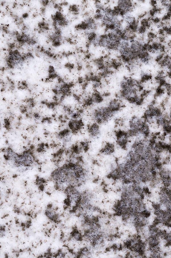 Struttura inquinante della neve, fondo illustrazione vettoriale