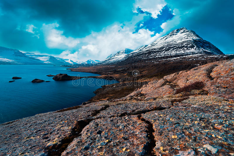 Struttura islandese fotografie stock libere da diritti