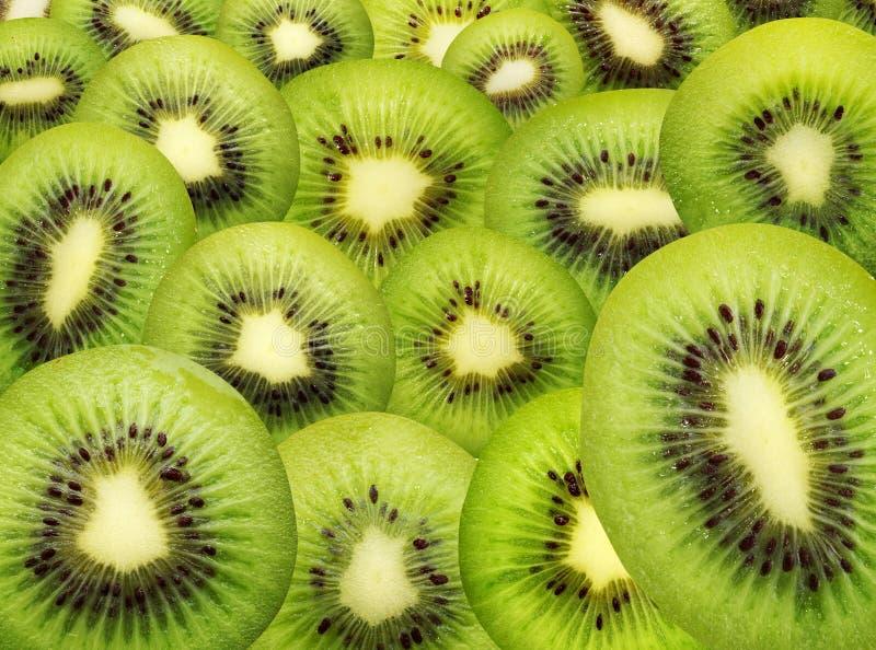 Struttura isolata del kiwi. fotografie stock