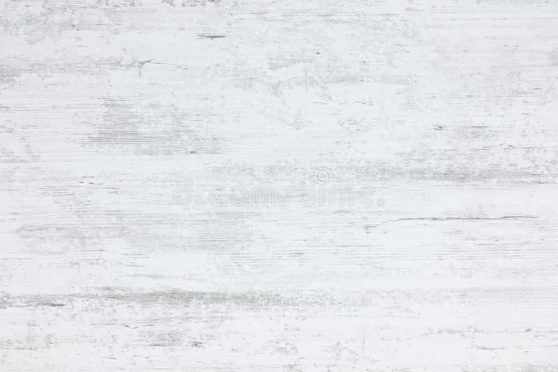Struttura lavata di legno, fondo astratto di legno bianco illustrazione vettoriale
