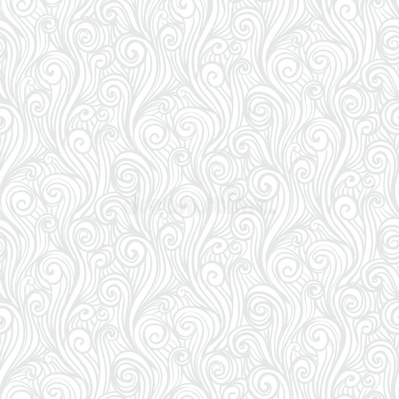 Struttura lineare bianca nello stile d'annata royalty illustrazione gratis