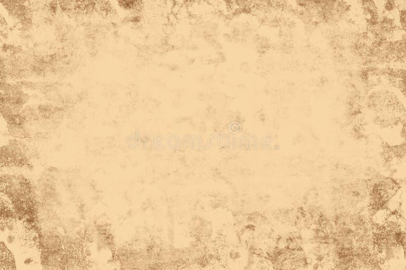Struttura marrone chiaro di retro struttura di lerciume illustrazione vettoriale