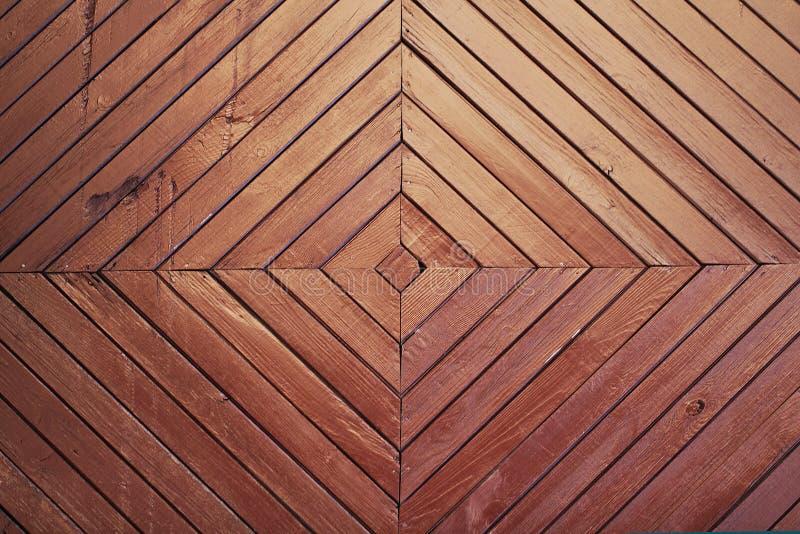 Struttura marrone di legno del fondo fotografie stock