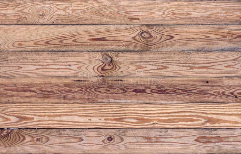 Struttura marrone di legno del grano, vista superiore del fondo di legno della parete della tavola di legno fotografie stock