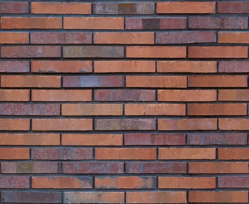 Struttura marrone senza cuciture del fondo del modello del muro di mattoni Priorità bassa senza giunte del muro di mattoni Backgr immagine stock libera da diritti