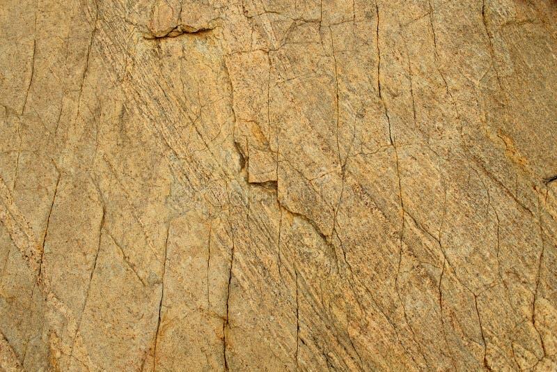 Struttura meravigliosa dello sfondo naturale di struttura incrinata della roccia fotografie stock