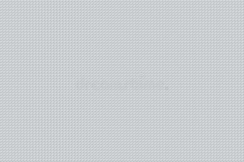 Struttura minima degli ambiti di provenienza di progettazione di WhitePatterns illustrazione di stock
