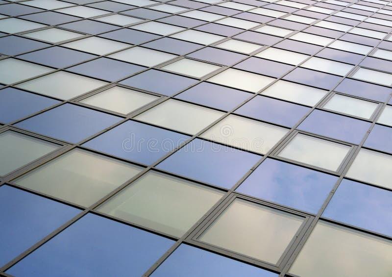 Struttura moderna del fasade della superficie del grattacielo dell'edificio per uffici fotografia stock