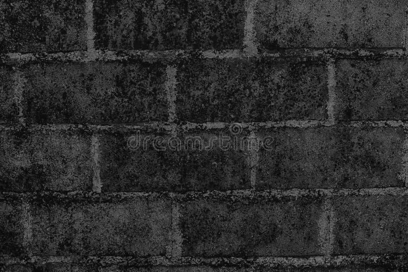 Struttura monocromatica di vecchia costruzione d'annata, concetto del mattone di tecnica di lerciume di progetto immagine stock libera da diritti