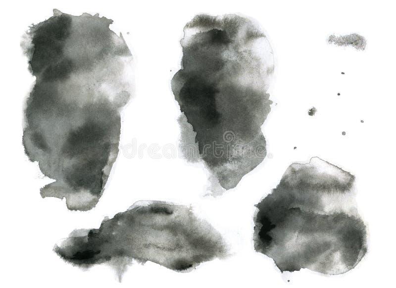 Struttura morbida di effetto dell'inchiostro royalty illustrazione gratis