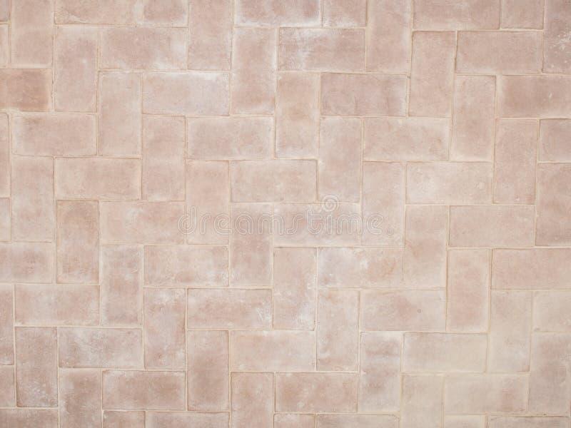 Struttura naturale del pavimento della pietra del mosaico immagini stock