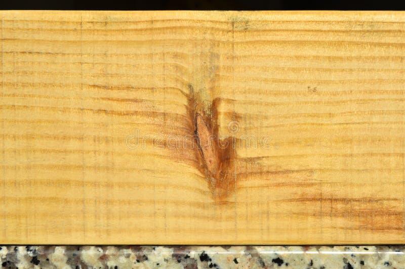 Struttura naturale della plancia di legno di pino Grano, copertura fotografia stock