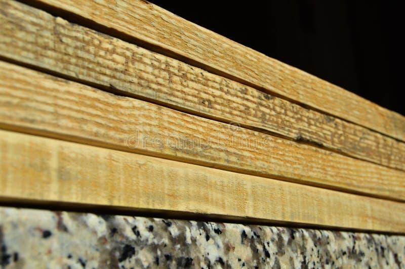 Struttura naturale della plancia di legno di pino Grano, copertura fotografie stock