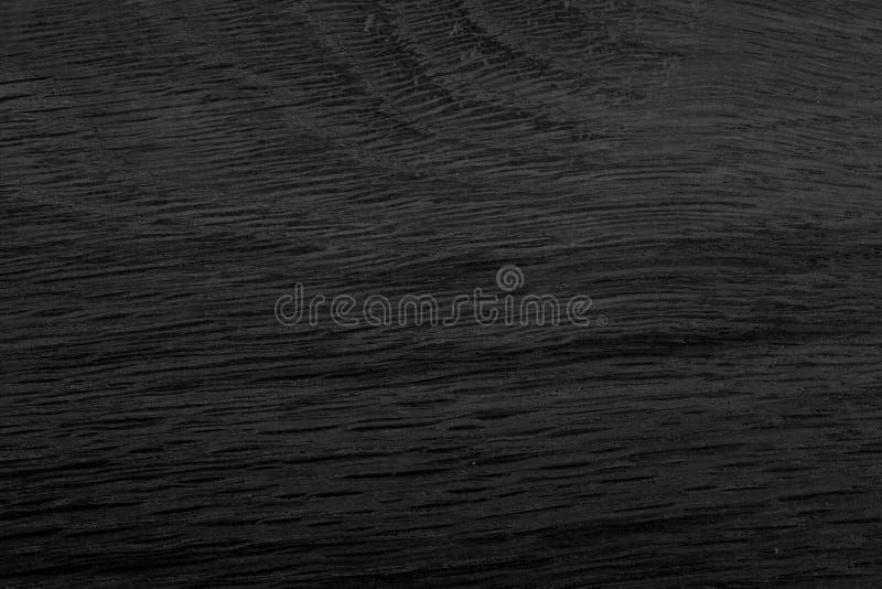 Struttura naturale scura e nera di legno di quercia Pu? essere usato come fondo fotografia stock