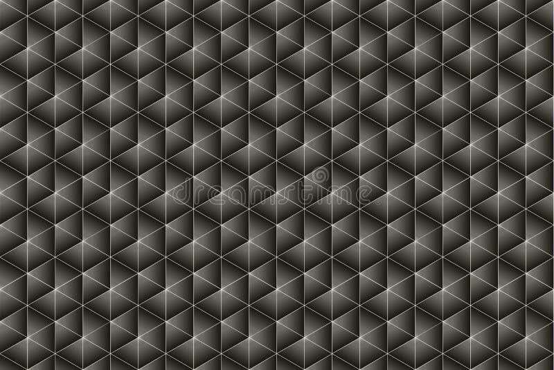 Struttura nel Grey nero ed in profondità caldo fotografia stock