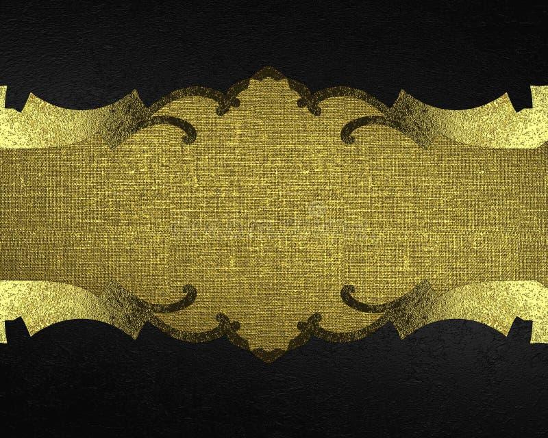 Struttura nera con i modelli Mascherina per il disegno copi lo spazio per l'opuscolo dell'annuncio o l'invito di annuncio, fondo  royalty illustrazione gratis