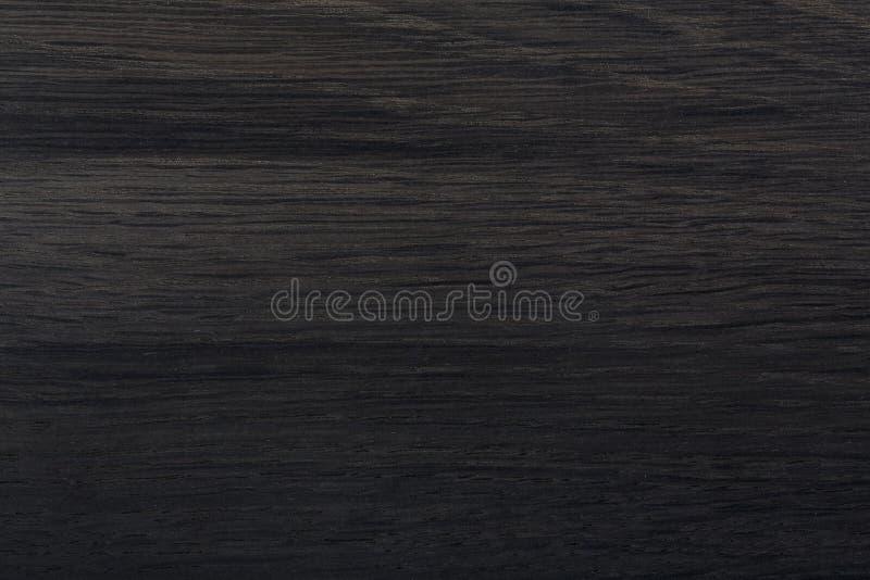 Struttura nera del bordo di legno Struttura di legno nera naturale di alta qualità fotografie stock