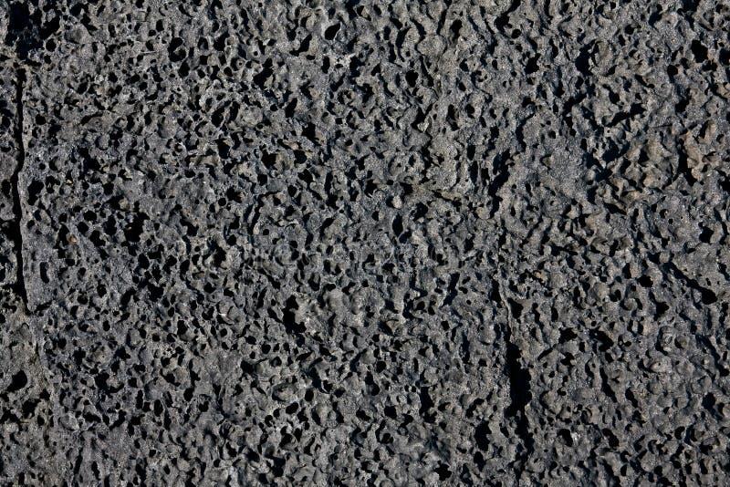 Struttura nera della lava fotografie stock libere da diritti