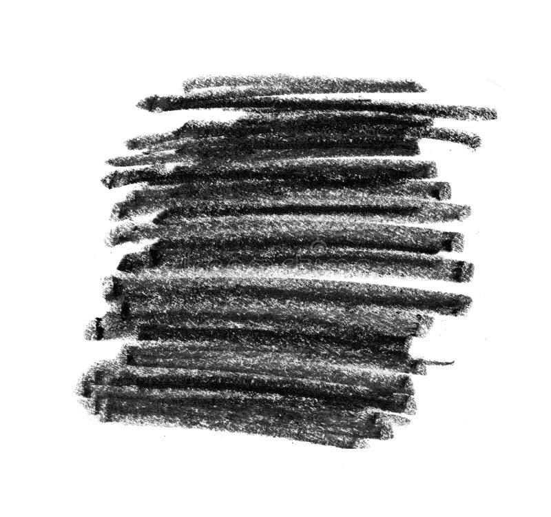 Struttura nera della matita per fondo immagini stock libere da diritti
