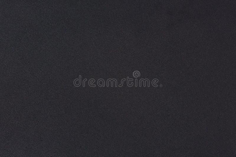 Struttura nera di cuoio di lusso dell'estratto per fondo Cuoio grigio scuro di colore per il prodotto di progettazione o del cont immagine stock