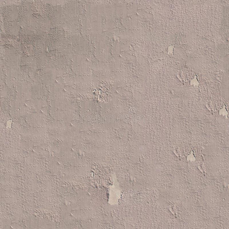 Struttura o fondo senza cuciture dipinta stagionata grigia della parete fotografia stock libera da diritti