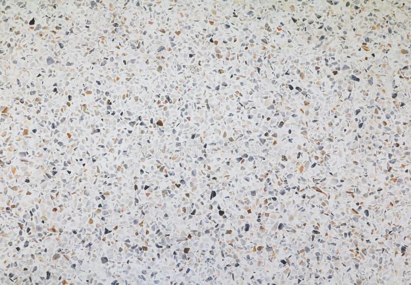 struttura o marmo del pavimento di terrazzo Bello fondo fotografie stock libere da diritti