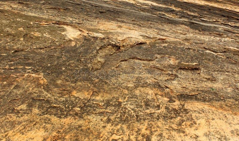 Struttura orizzontale dello sfondo naturale di struttura della roccia fotografie stock libere da diritti