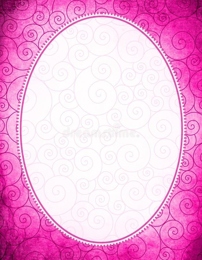 Download Struttura ovale illustrazione di stock. Illustrazione di telaio - 30830435