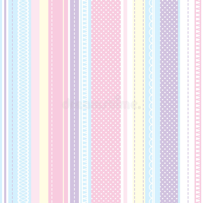 Struttura per i tessuti BAMBINO del modello del tessuto royalty illustrazione gratis
