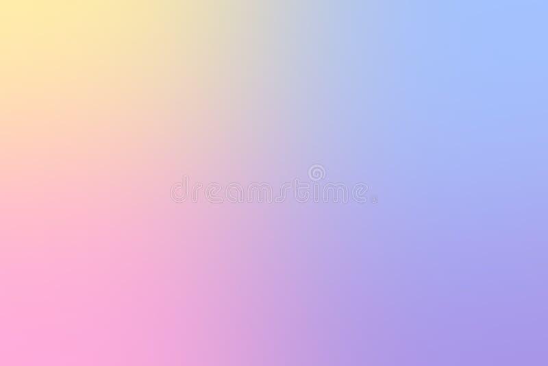 Struttura porpora e gialla blu rosa blu del fondo di colore pastello per il fondo di progettazione di biglietto da visita con spa royalty illustrazione gratis